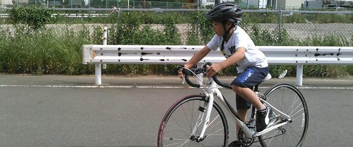 【ジュニア ロードバイクスクール】初めての実走
