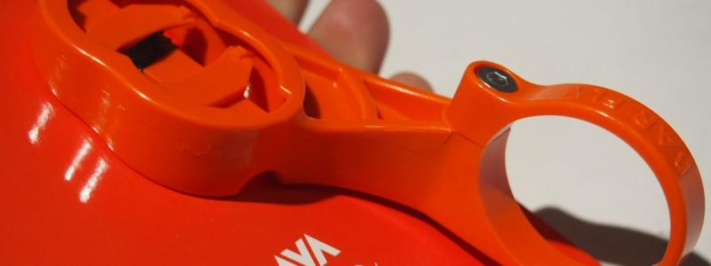 【便利アイテム】ハンドル周りをスッキリとBARFLY2.0オレンジ
