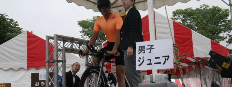 「レースレポート」全日本選手権個人タイム・トライアル・ロードレース大会