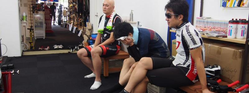 【ロードバイクスクール】3キロタイムトライアル測定