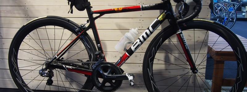【愛車カスタム】BMC SLRをTTバイク化