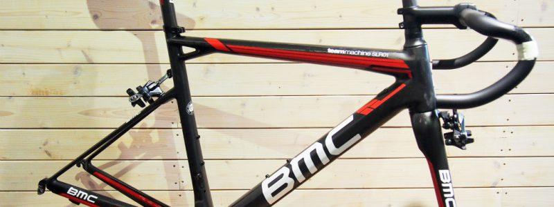 【中古車入荷情報】2015年モデル BMC SLR01 51サイズ フレームセット+パーツ類