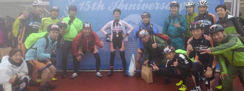 【レースレポート】第15回Mt.富士ヒルクライム・第14回 JBCF 富士山ヒルクライム Fクラスタ 廣瀬選手