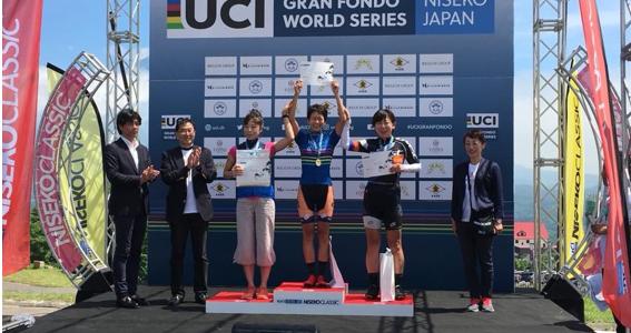 【レースレポート】UCI GRAN FOND WORLDS SERIES NISECO CLASSIC 2018 女子 廣瀬選手