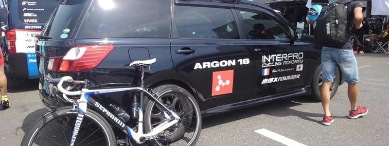 【シマノ鈴鹿】Interpro Stadalli Cycling チームのサポートさせて頂きました