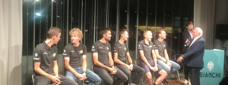 JapanCup アフターパーティ Team Lotto Jumbo Bianchi