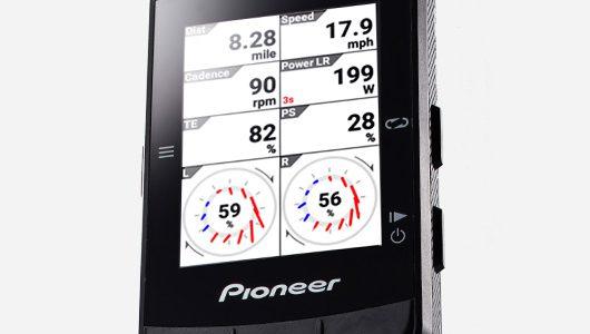 Pioneer ペダリングモニター 新製品発売キャンペーン