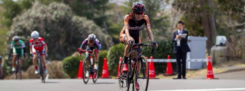 レースレポート第44回チャレンジサイクルロードレース A-F廣瀬選手