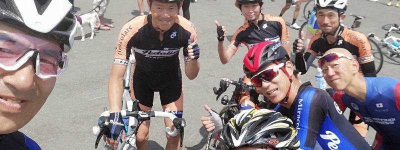 ■レースレポート UCI グランドフォンドワールドシリーズ第6回ニセコクラシック 男子70kmAge55-59カテゴリー 安田選手
