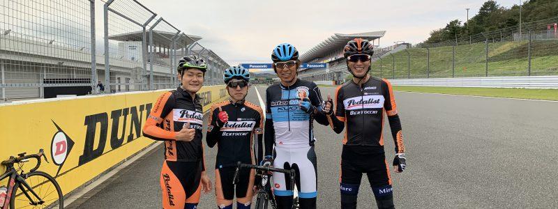 FUJI FREE RIDE+今中大介氏ロードバイクスクールに参加してきました!