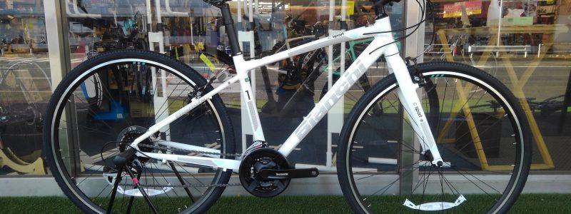 ~BIANCHI C-SPORT1クロスバイクあります~