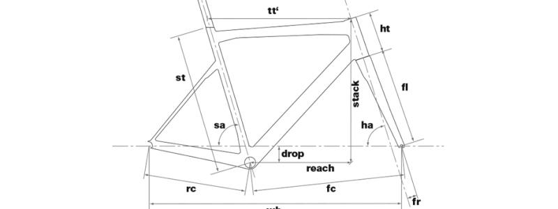【ジオメトリで見るOLTRE XR4とSLR01の違い1】